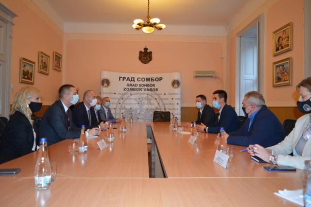 Састанак представника Града Сомбора и Покрајинског секретаријата за привреду и туризам