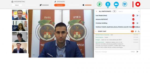 Градоначелник учествовао на онлајн конференцији