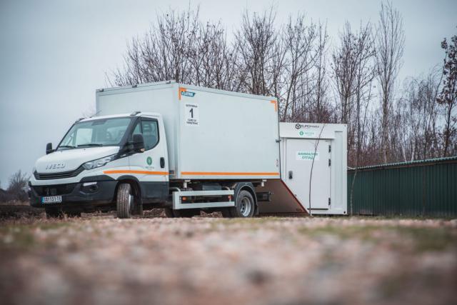 Хладњача за превоз и складиштење анималног отпада