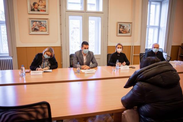 Градоначелник Антонио Ратковић са сарадницима