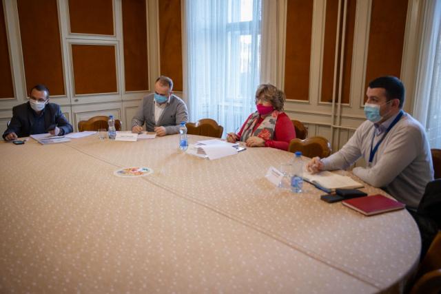 Заменица градоначелника Љиљана Тица са сарадницима