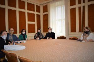 Састанак пројектних партнера DANUrB+ пројекта у згради Жупаније