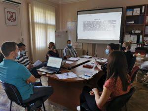 foto 2 - Sastanak radne grupe za sprovođenje participativnog budžetiranj...